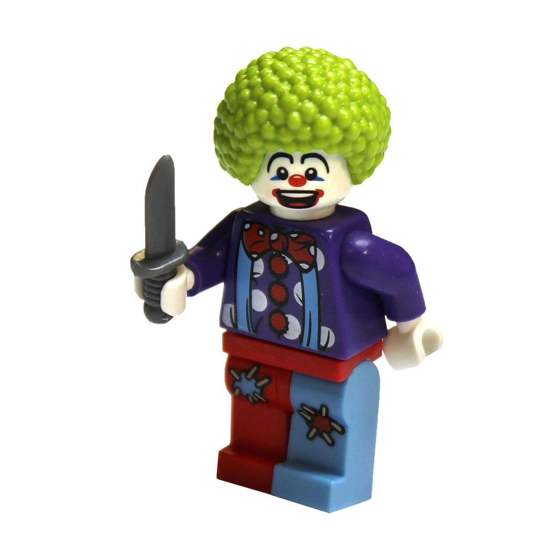 Lego City - Figura en miniatura de payaso con cuchillo ...