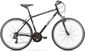 ROMET ORKAN M Bicicleta de Cross, Negro y Gris, 21 Pulgadas ...