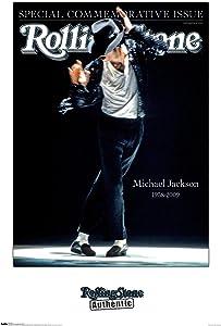 Trends International Rolling Stone Magazine - Michael Jackson 09 Wall Poster, 22.375