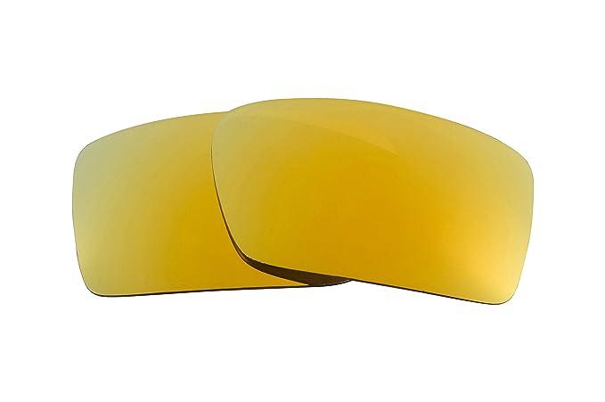 76c1c617e4 Mejor SEEK Polarizado Lentes de Repuesto para Oakley GASCAN 24K Oro  Espejadas: Amazon.es: Ropa y accesorios