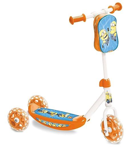 Mondo 28176 - Patinete de 3 ruedas con diseño - Mi primer scooter + borsello