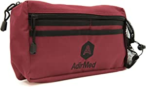AdirMed Wheelchair Pouch - Rollator Pouch - Walker Pouch - Burgundy