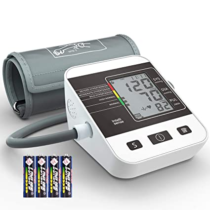 Tensiómetro de Brazo Digital, Annsky Monitor Eléctrico de Presión Arterial Medición Automática de la Presión