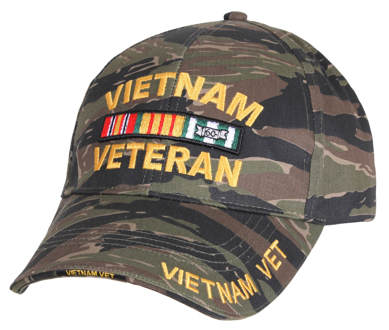 a18035e1157 Amazon.com   Rothco Deluxe Low Profile Vietnam Veteran Cap   Sports    Outdoors