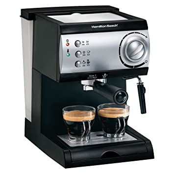 Hamilton Beach Espresso Maker powerful