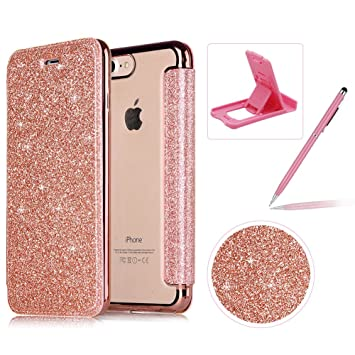 coque rabat iphone 6 glitter