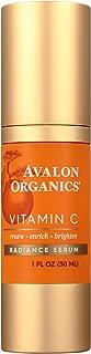 product image for Avalon Organics Vitamin C Radiance Serum, 1 Fl Oz