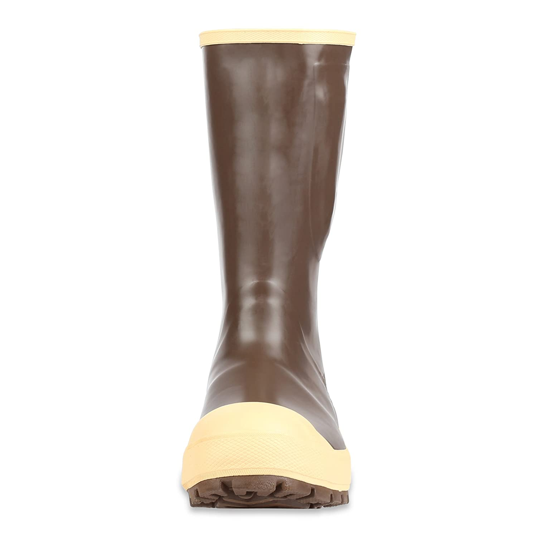 Copper /& Tan Servus 15 Neoprene Steel Toe Insulated Mens Work Boots