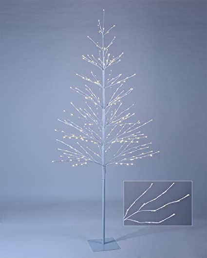 led tree northern lights starlit tree with 308 bulbs warm white