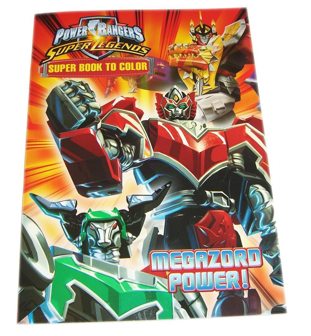 POWER RANGERS - Super Legends - super Malbuch - ca. 64 Seiten zum ...