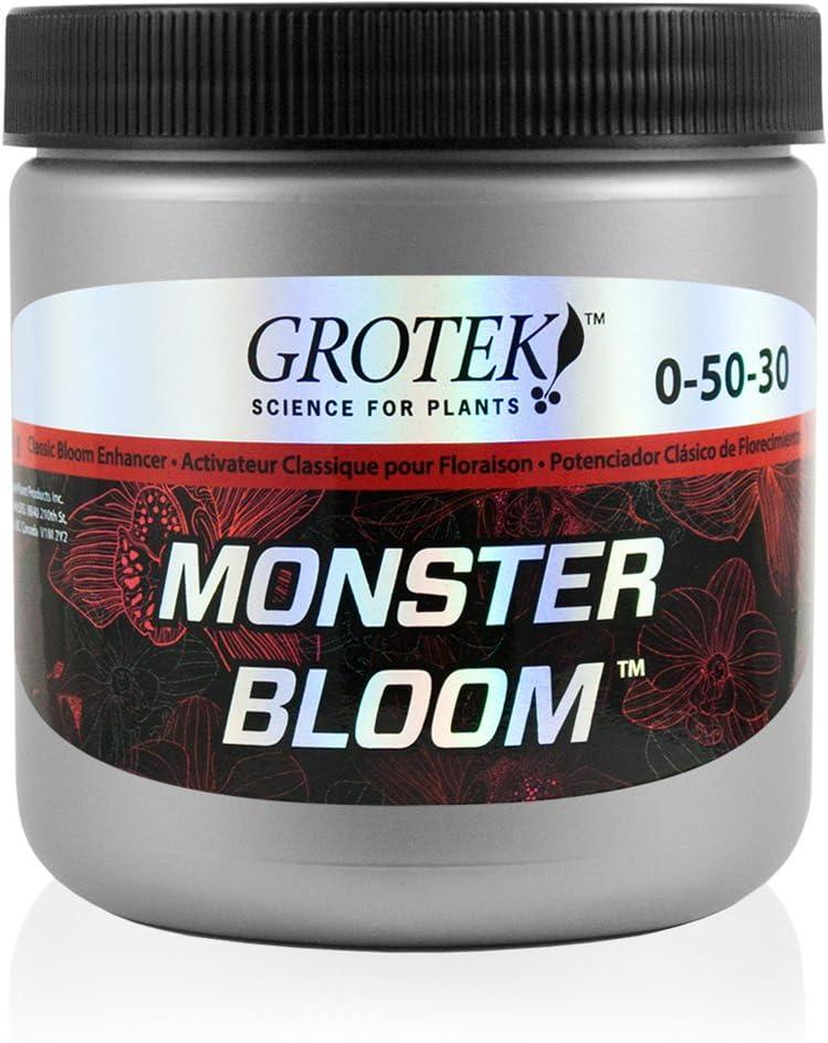 Estimulador de Floración / Fertilizante en Polvo Grotek Monster Bloom (500g)