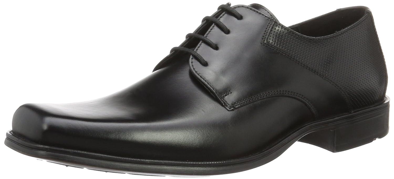 Lloyd Dwaine, Zapatos de Cordones Derby para Hombre 43 EU (9 UK / 10 US) EU|Negro (13180 Navy/Plaid)