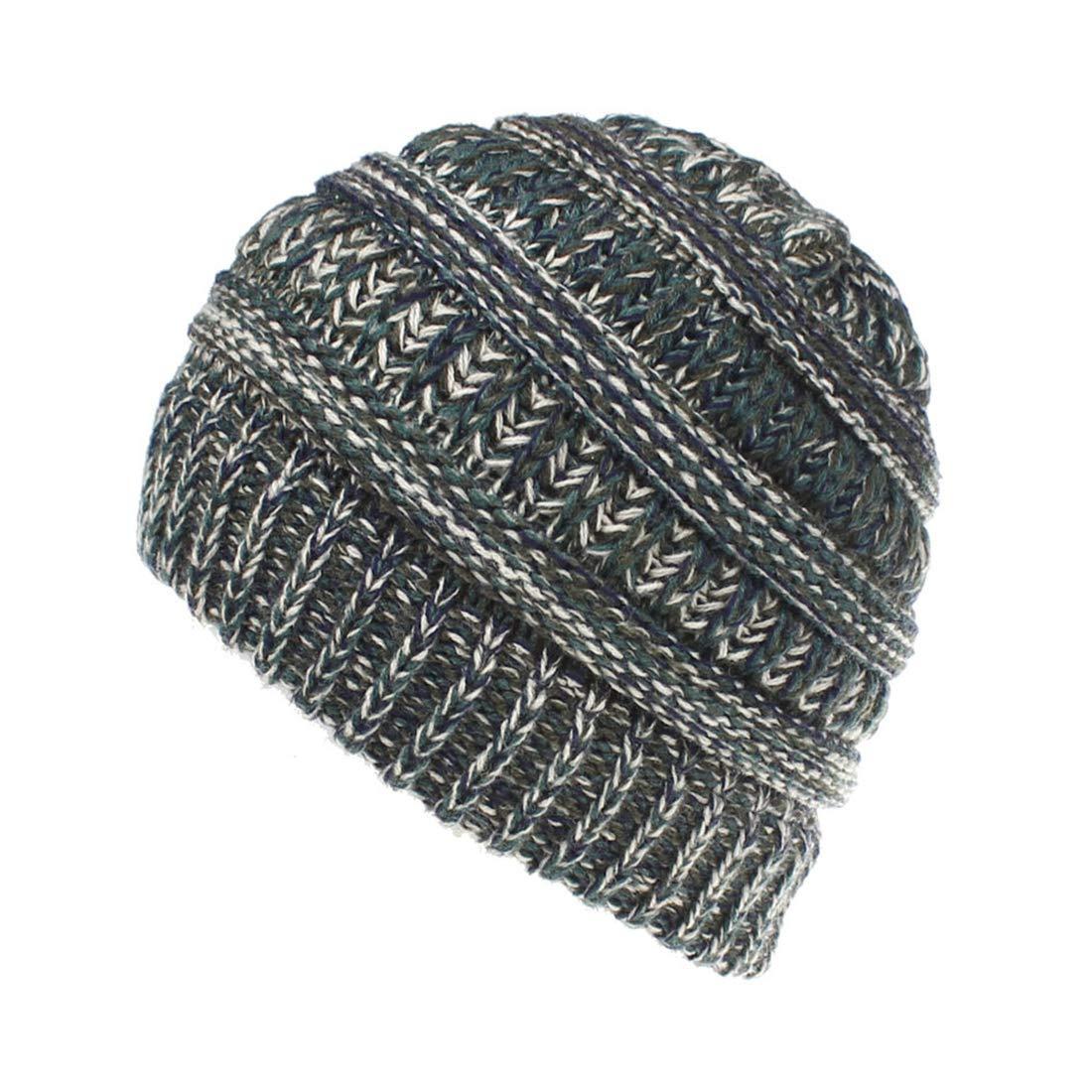 Classic Kids Toddler Chunky Knit Warm Winter Hat Beanie Skull Cap for Children