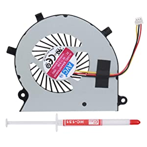 S-Union New Laptop CPU Cooling Fan For Toshiba Satellite Radius P55W-B P55W-B5112 P55W-B5318 P55W-B5220 P55W-B5224 Series Replacement P/N:BAAA0705R5H With Thermal Grease