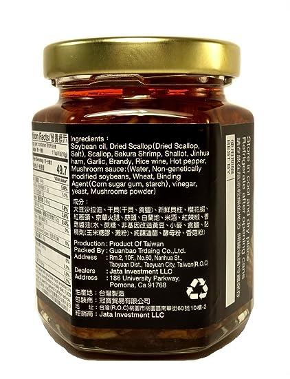 SJ Scallop Sauce 185g