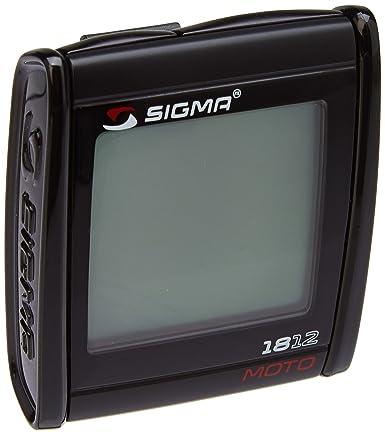 Sigma Sport Uni Motorradcomputer Mc 18 12 Motorrad Computer Schwarz 7 X 3 X 3 Cm Gewerbe Industrie Wissenschaft