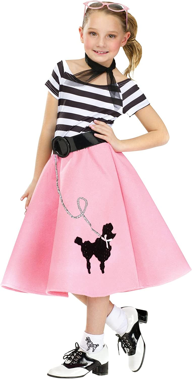 1950s Poodle Dress Outfit Adult Costume