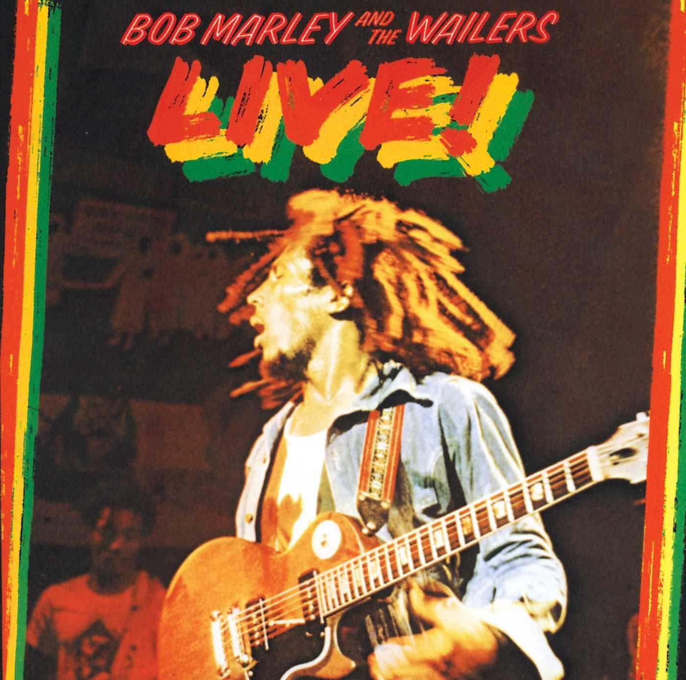 CD : Bob Marley - Live (Bonus Tracks, Remastered)