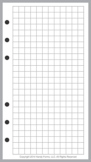 Workbook free printable graph worksheets : Amazon.com : Personal Size Graph Paper Refill, Sized and Punched ...