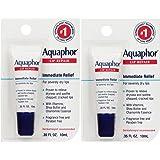 Aquaphor Lip Repair .35 Fluid Ounce Carded Pack ganKaP, 2 Pack (0.35 oz)