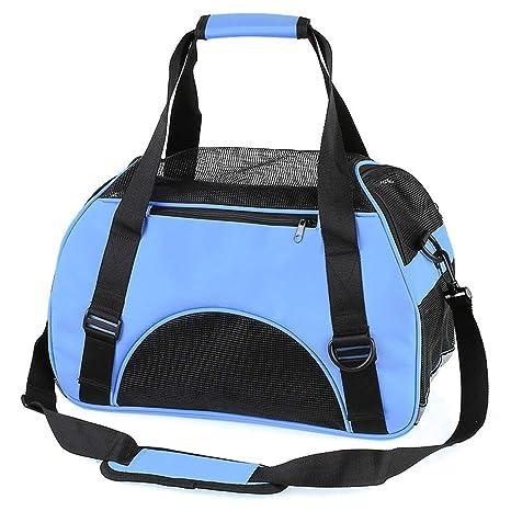 Amazon.com : Pet-Carriersportable Travel Pet Carrier Bag for Cat Dog Backpack Carrying Handbag Small Dog Shoulder Sling Bag for Puppy Kitten Animal, Pink, ...