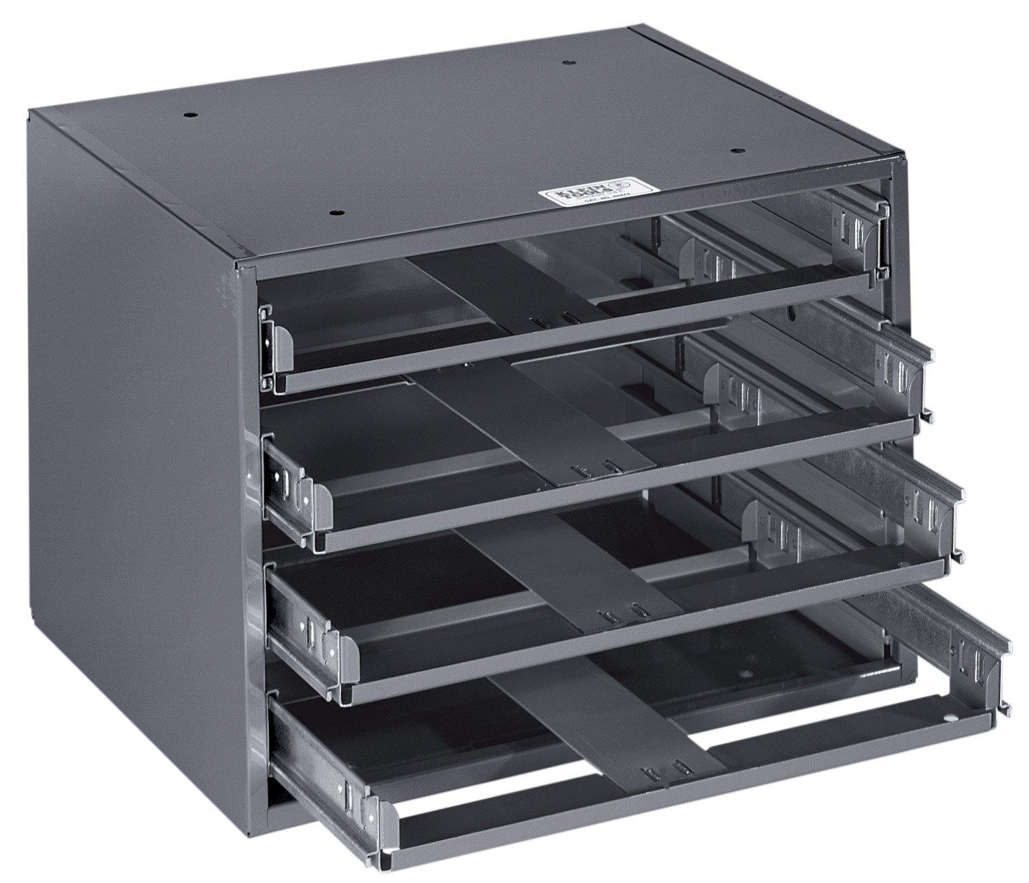 Klein Tools 54474 4-Box Slide Rack