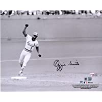 "$67 » Ozzie Smith St. Louis Cardinals Autographed 08"" x 10"" 1985 NLCS Photograph - Fanatics Authentic Certified"