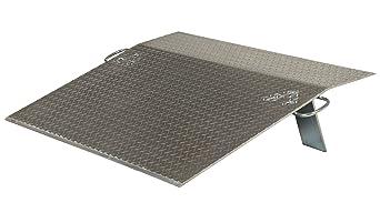 Capacity Vestil Economizer Dockplate 3500-lb Aluminum Model Number EH-4248 48in.L x 42in.W