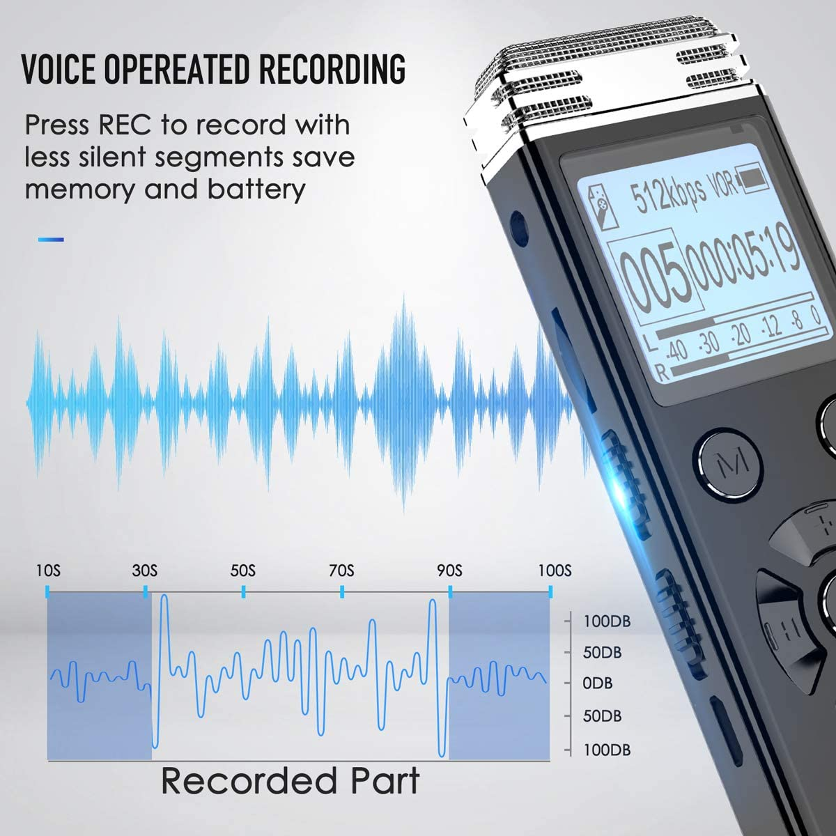 Electronics & Photo Digital Voice Recorders gaixample.org 32GB ...
