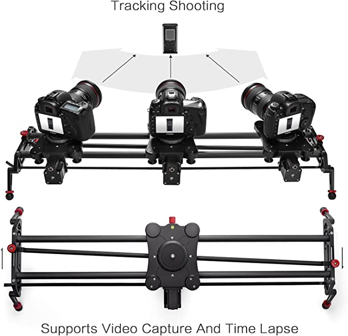JIN Tripod Heads 360 Degrees Panning Rotation 120 Minutes Time Lapse Stabilizer Tripod Head Adapter Camera Accessory