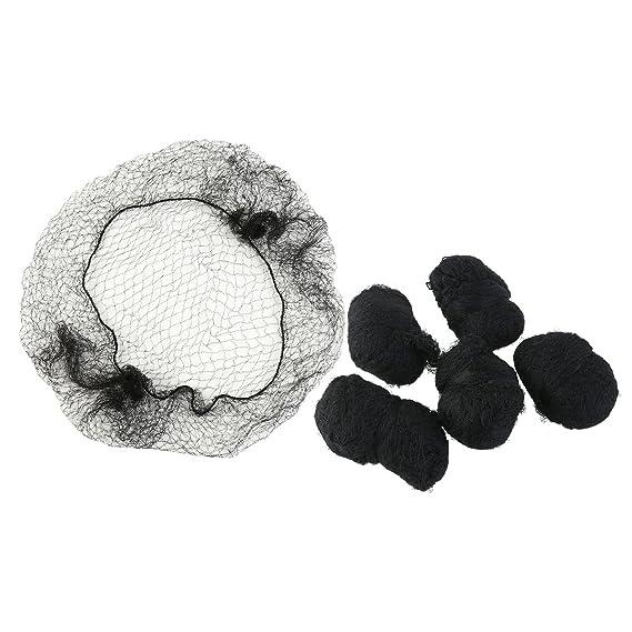 Frcolor Redes de pelo Invisible elástico redes para el cabello de malla - 100 unids: Amazon.es: Belleza