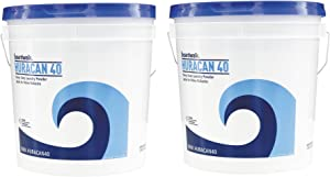 Boardwalk HURACAN40 Low Suds Laundry Detergent, Powder kzsDpS, 2 Pack (40lb (40 lb. Pail)