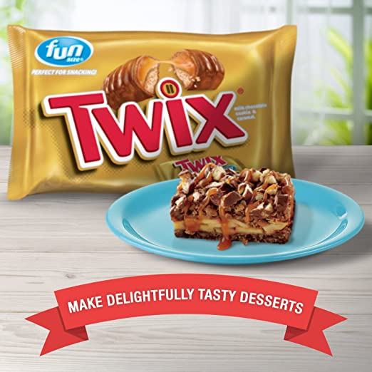 Amazon.com : TWIX Caramel Fun Size Chocolate Cookie Bar Candy 20.62-Ounce Bag (Pack of 2) : Grocery & Gourmet Food