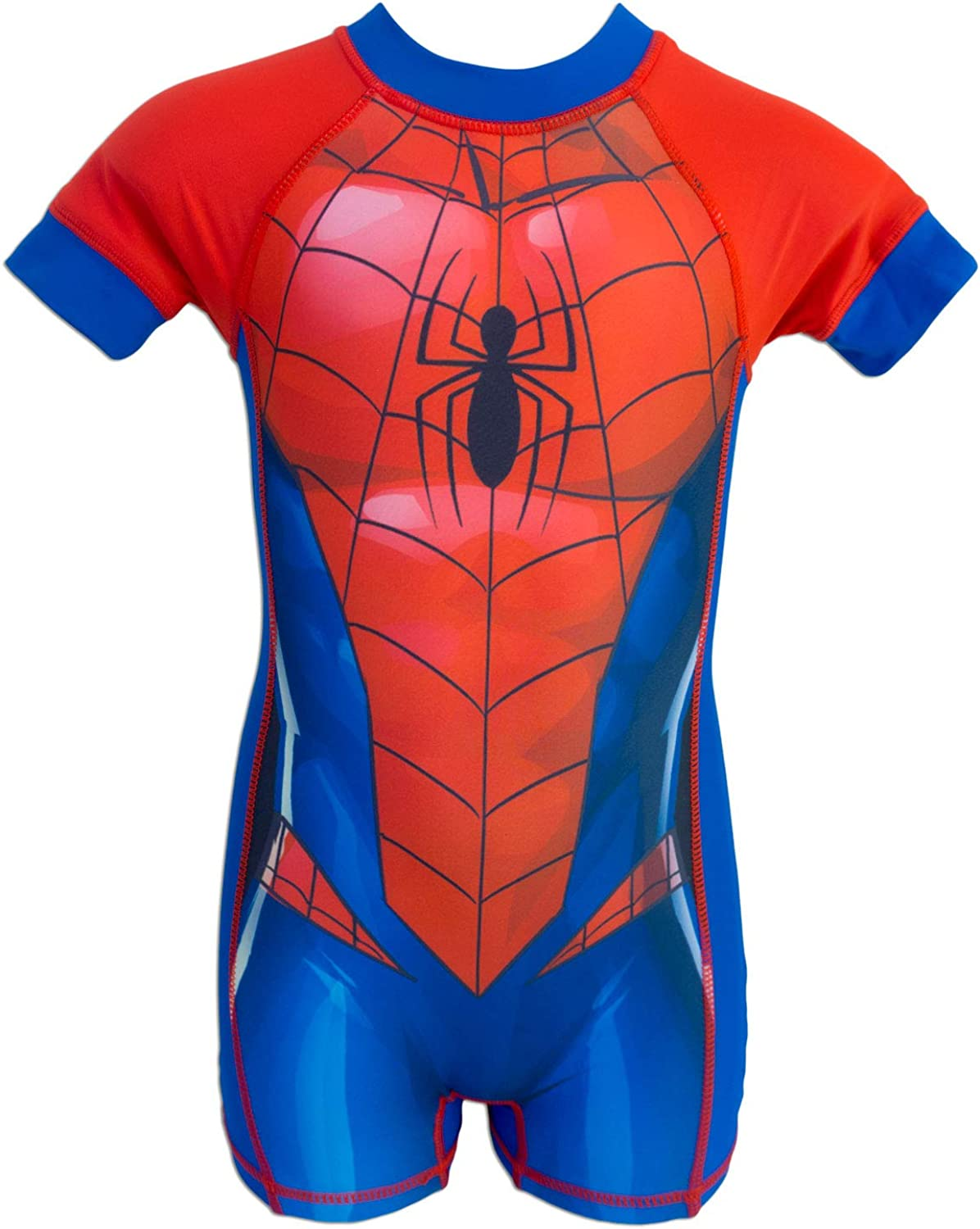 Spider-Man - Bañador Shorty Neopreno Natación Anti UV 50+ - para ...