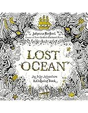 Lost Ocean: An Underwater Adventure & Coloring Book