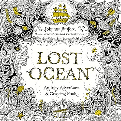 - Lost Ocean: An Inky Adventure And Coloring Book For Adults (0884316778286):  Basford, Johanna: Books - Amazon.com