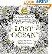 #7: Lost Ocean: An Inky Adventure and Coloring Book for Adults