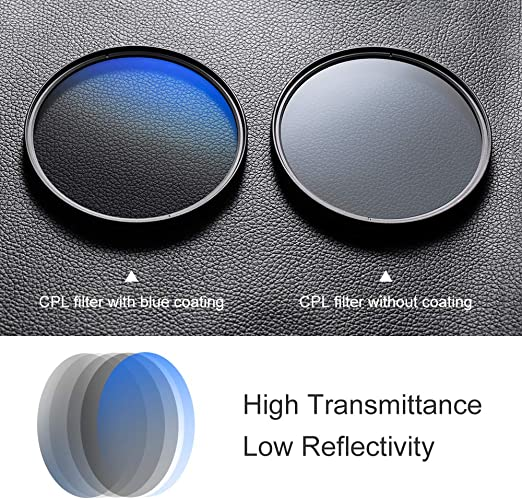 Circular Polarizer C-PL 67mm Multicoated For Samsung NX500 Multithreaded Glass Filter
