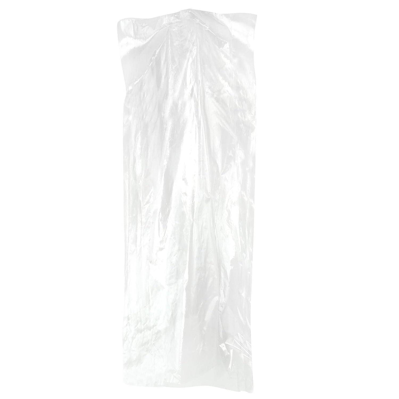 Hangerworld 100 Durchsichtige Bekleidungsschutzhüllen 121cmx51x10cm 121cmx51x10cm 121cmx51x10cm Polyethylen 0,025mm Folienstärke B001B3UKAA Kleiderscke afc853