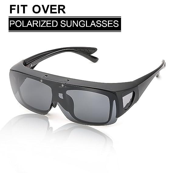 Rapid Eyewear Noir SUR-LUNETTES DE SOLEIL POLARISÉES pour la conduite, le  cyclisme, 33c5fedfaf98