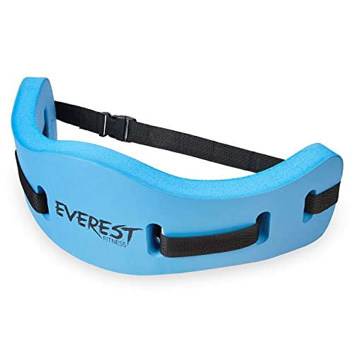 EVEREST FITNESS Aqua Aerobics Belt for water sports, swimming and fitness training - a universally adjustable secure swimming aid for up to 100kg in body weight