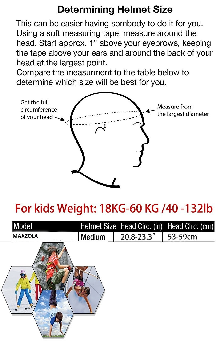 Lennystone Kids Protective Pads Knee Elbow Wrist Guards 3 Measuring Tape Diagram In 1 Gear Set