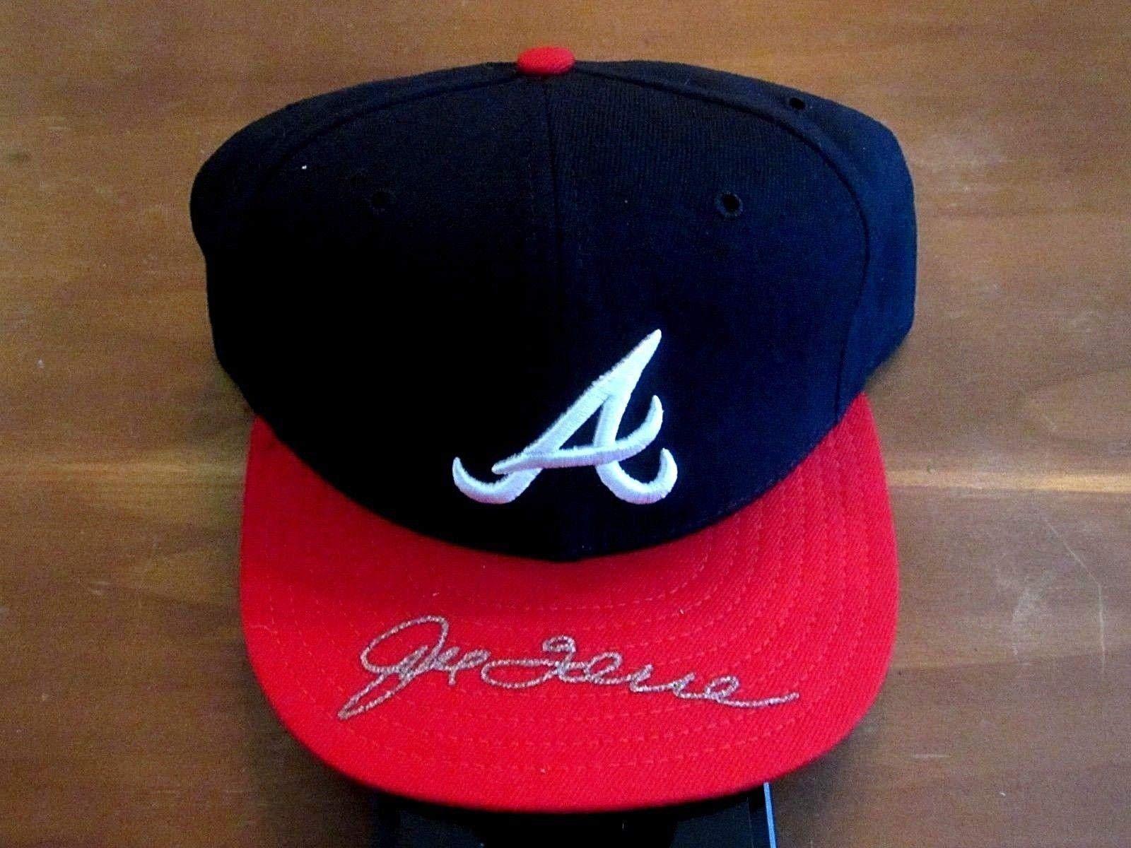 Joe Torre Gold Glove Winner Hof Braves Yankee Signed Auto New Era Cap JSA Certified Autographed Hats