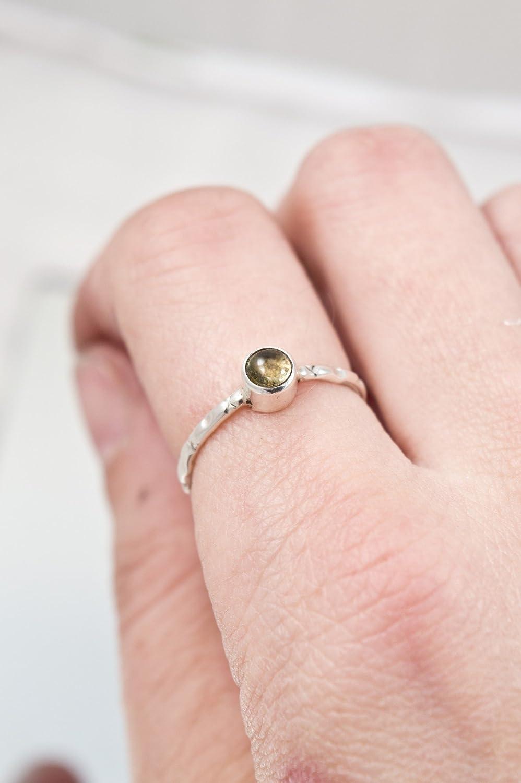 Amazon.com: Citrine ring - engagement ring - promise ring - gemstone ...