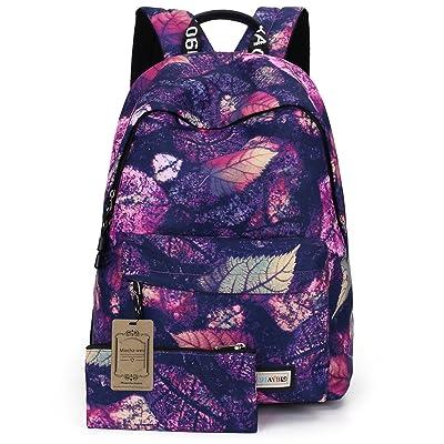 Mocha weir JIAYBL Laptop Backpack School Girls ladies Women Backpack