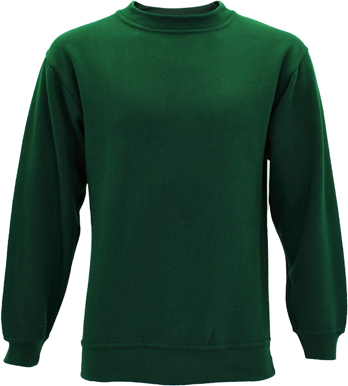 Pro Rtx New Crew Neck Sweatshirt Mens Plain Jersey Uniform Sweater Jumper TOP