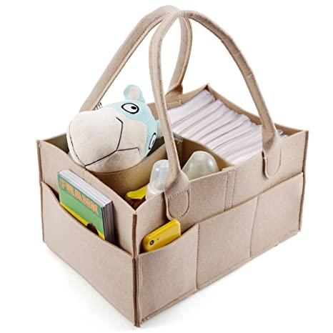 3 compartimentos organizador de pañales bebé pañales bolsa ...