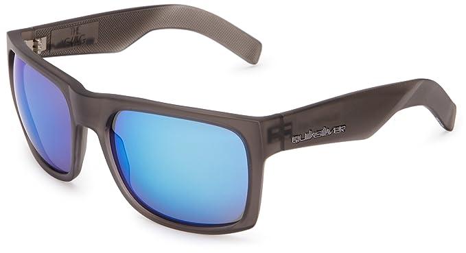 Quiksilver Gafas de Sol del Gancho i, MC Trans Azul, un ...