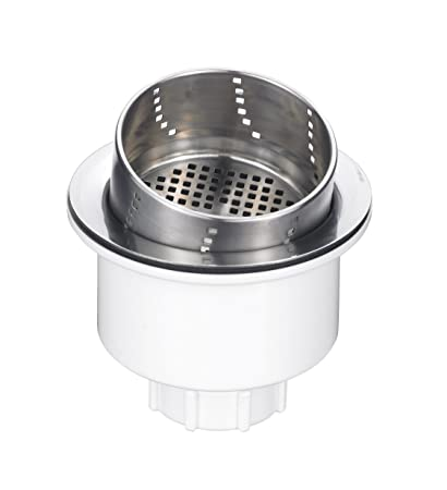 Superbe Blanco 441231 3 In 1 Basket Strainer, Stainless Steel