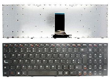 Nuevo teclado para ordenador portátil LENOVO B5400 M5400 en inglés negro con marco para Win8 UK: Amazon.es: Electrónica